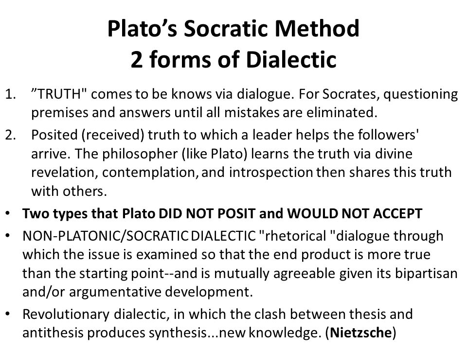 Socratic method