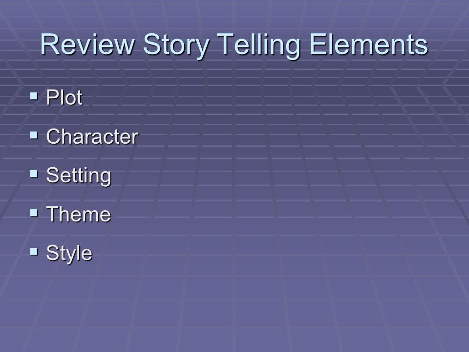 the story teller elements This inspired me to share my philosophy about using data, combined with the five  elements of storytelling, to empower clients to make important marketing.