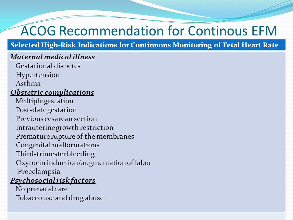 ACOG Committee Opinion The Suboptimally Dated Pregnancy - The ObG Project