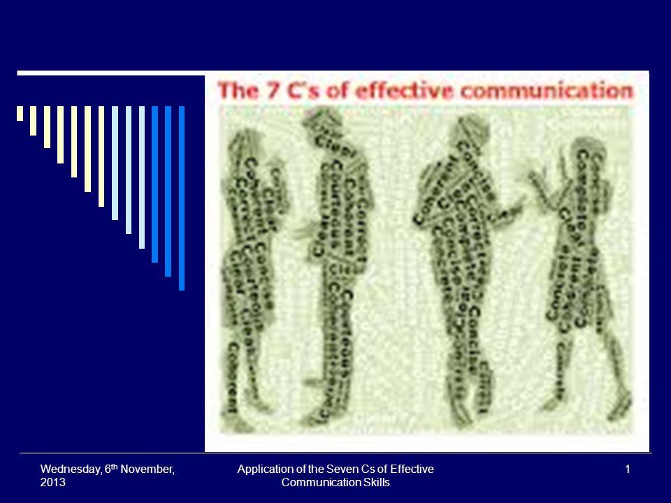 seven cs of communication