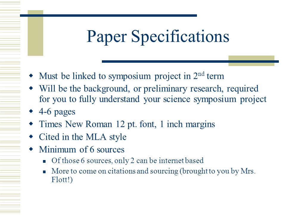 example of science project research paper