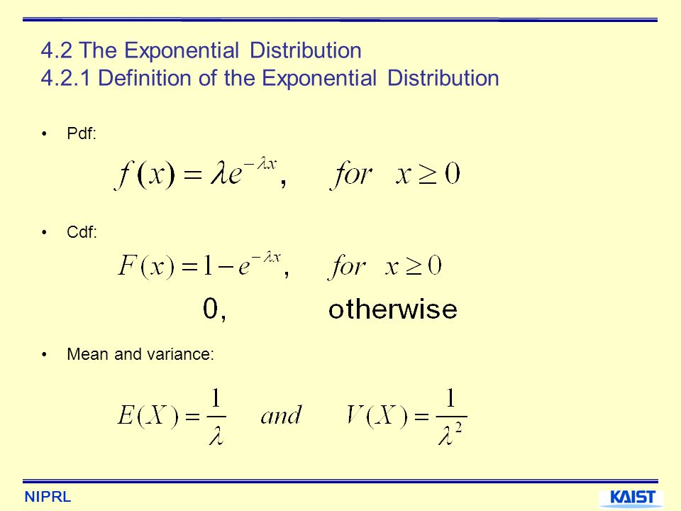 probability and continuous distribution The probability distribution of a continuous random variable for a discrete  random variable x the probability that x assumes one of its possible values on a .