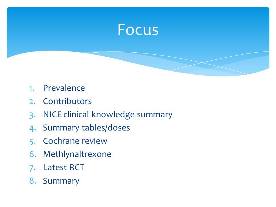 spr topic constipation ppt video online  focus prevalence contributors nice clinical knowledge summary