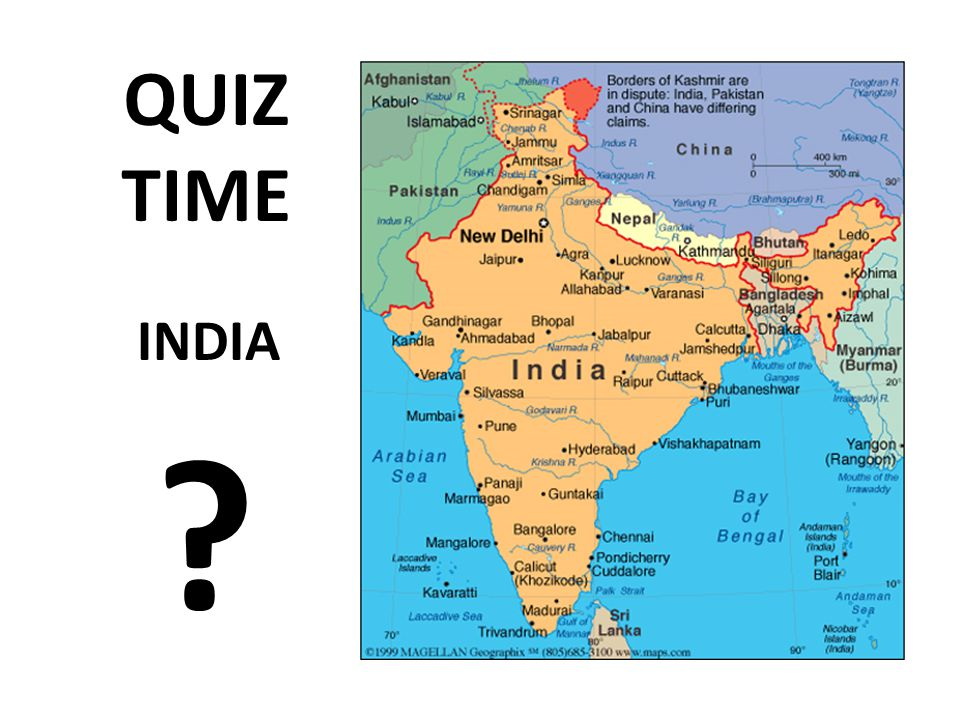 QUIZ TIME INDIA Ppt Download - Pakistan map quiz