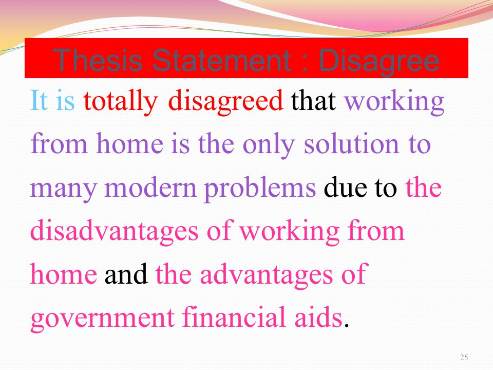 thesis statement agree disagree essay Some people think old buildings should be destroyed and replaced with modern buildings to what extent do you agree or disagree study foreign language at overseas is.