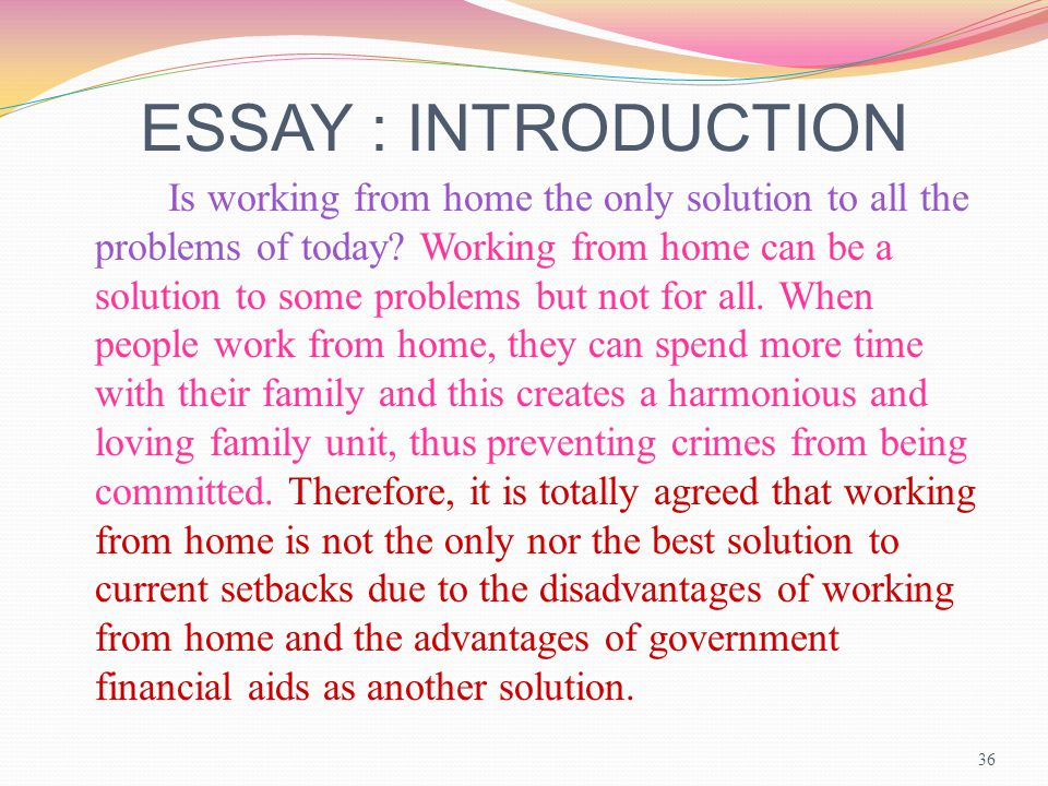 essay writing task workshop ppt  36 essay introduction