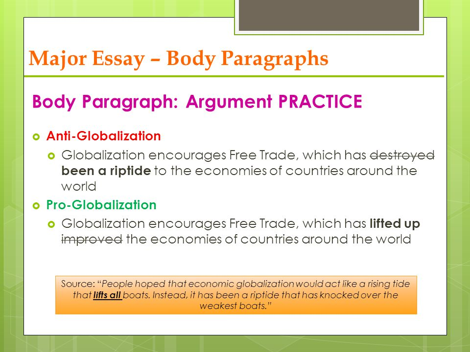essay questions about globalization Globalization questions and answers - discover the enotescom community of teachers, mentors and students just like you that can answer any question you might have on globalization.