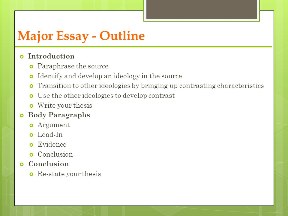 Prewriting an Essay Introduction