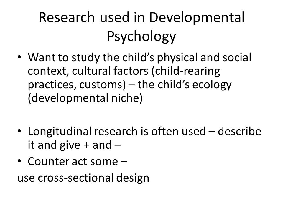 Developmental Psychologist Careers - Psychology School Guide