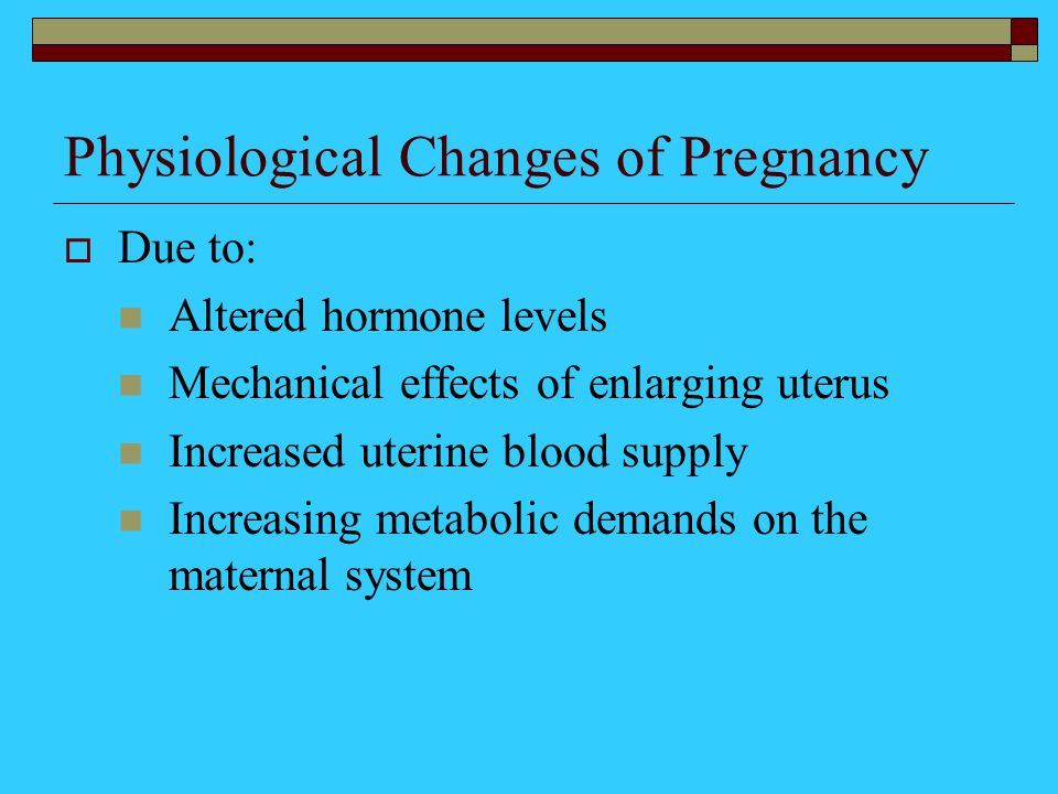 metabolic changes in pregnancy pdf
