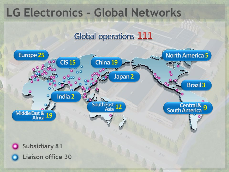 lg electronics international business Section a lg electronics global strategy in emerging markets up to 2007 lg electronics is a korean multinational which started as goldstar co in 1958 the business used to be focused on plastics download full paper.
