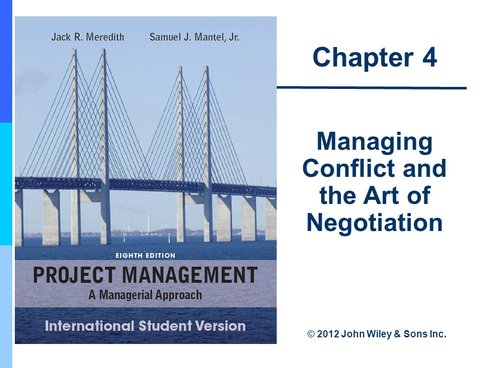 managing conflict 1 On 1 what is conflict conflict occurs when there is both a perceived difference  between the interests of the parties concerned and a belief, at least initially.