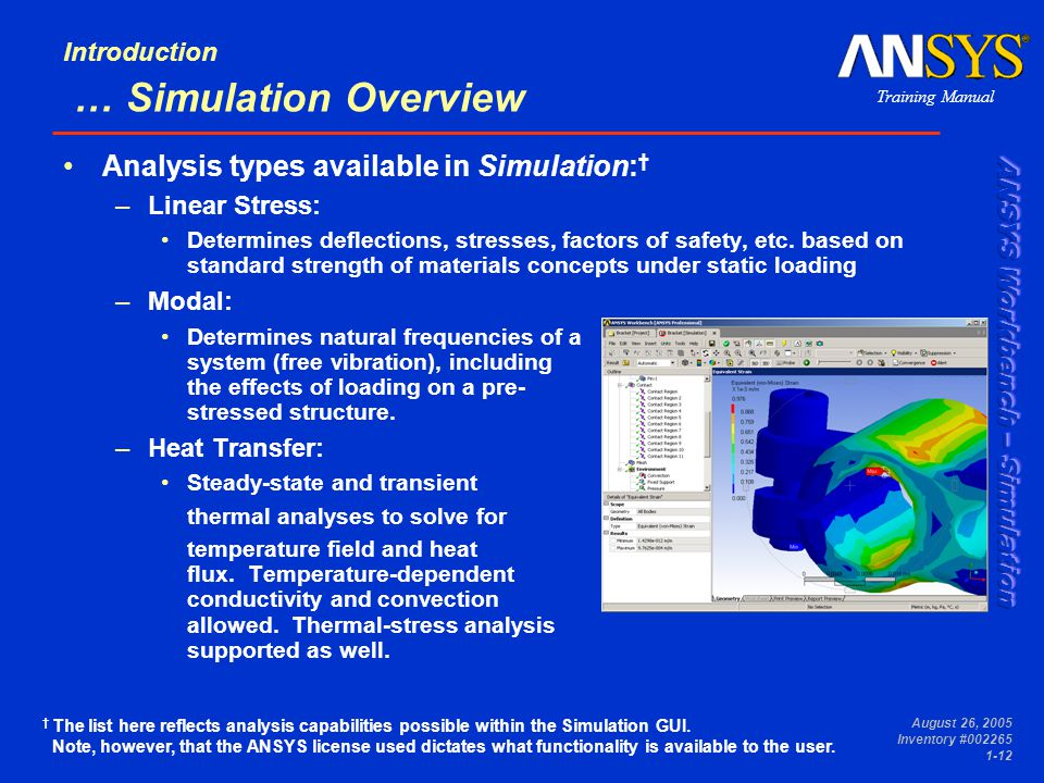 overview of simulation Simulation mechanical is no longer available for purchase learn about alternative products.