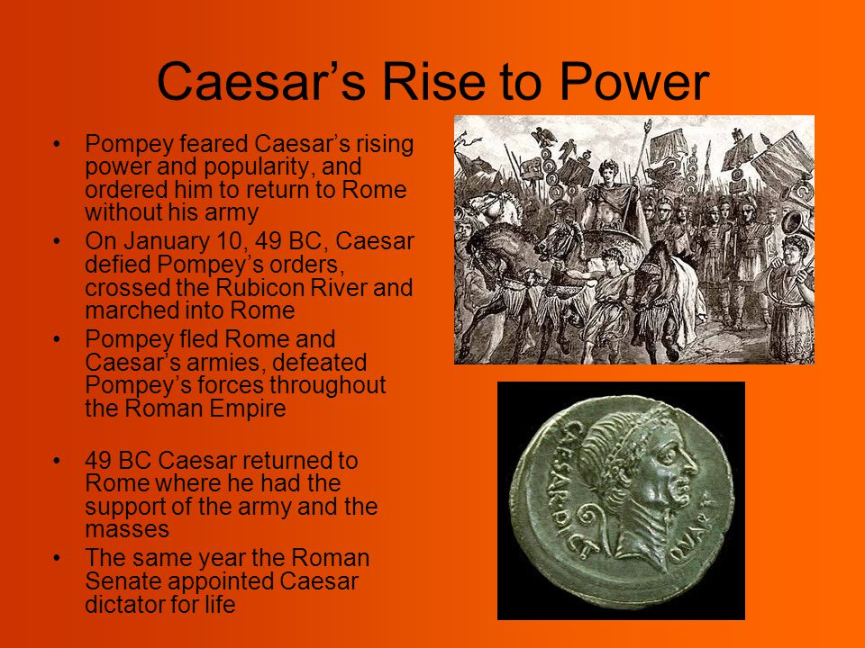 julius caesar rise to power essay