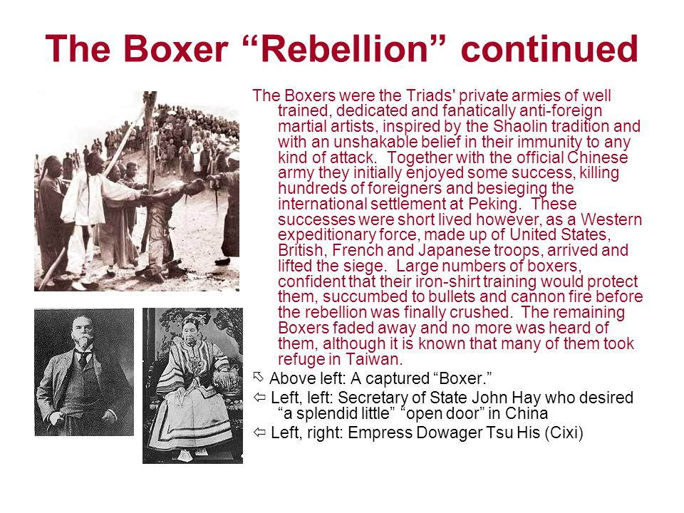 boxer rebellion essay