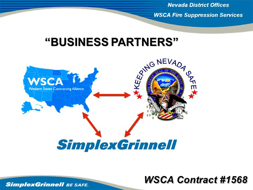 BUSINESS PARTNERS WSCA Contract #1568