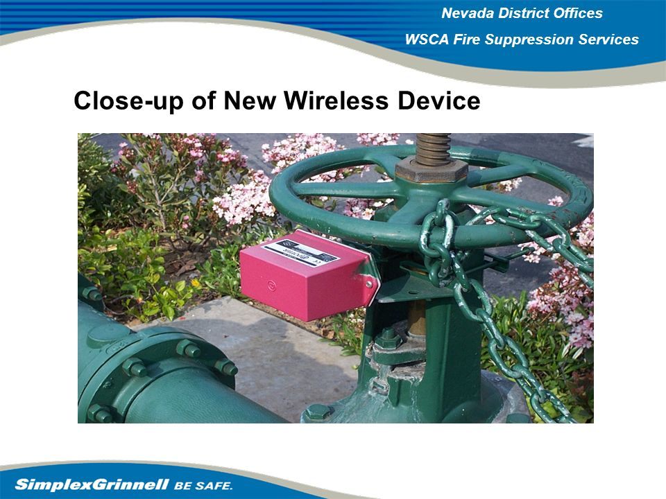 Close-up of New Wireless Device