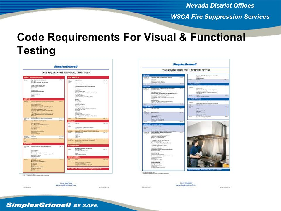 Code Requirements For Visual & Functional Testing