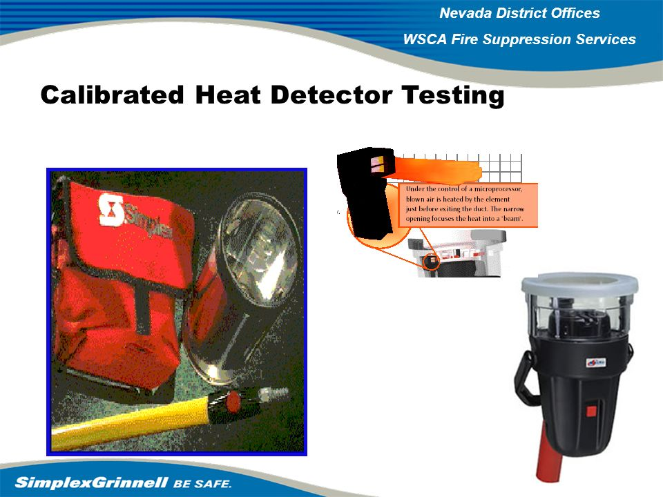 Calibrated Heat Detector Testing