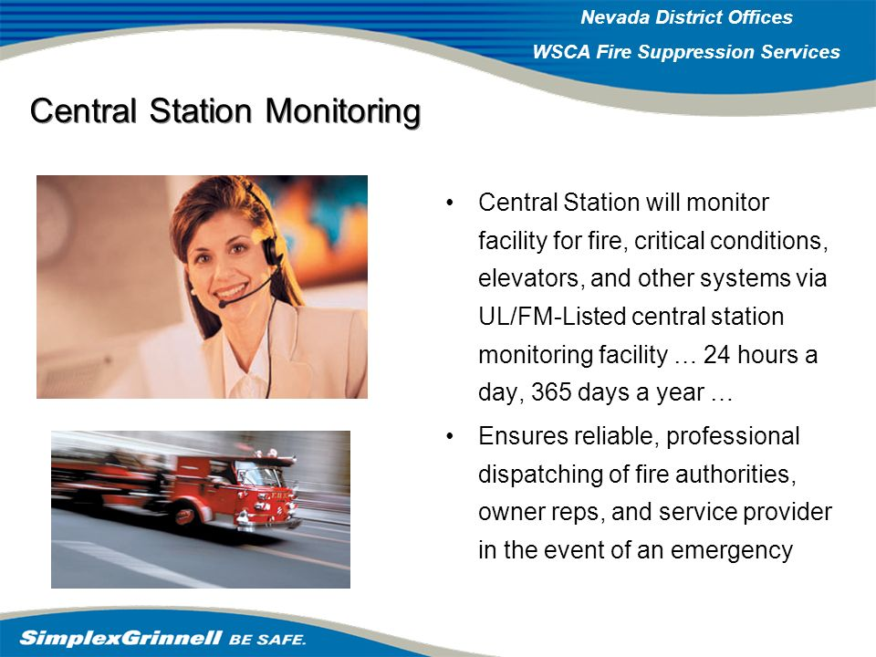 Central Station Monitoring