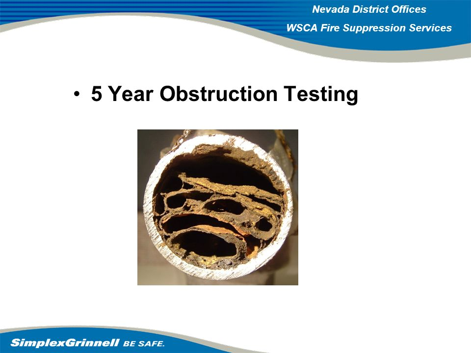 5 Year Obstruction Testing