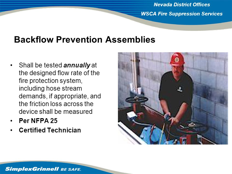 Backflow Prevention Assemblies