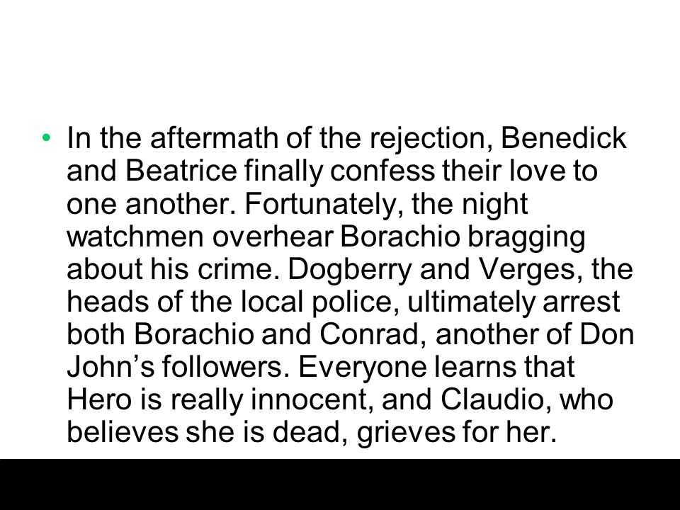 what was beatrice and benedick relationship in the past