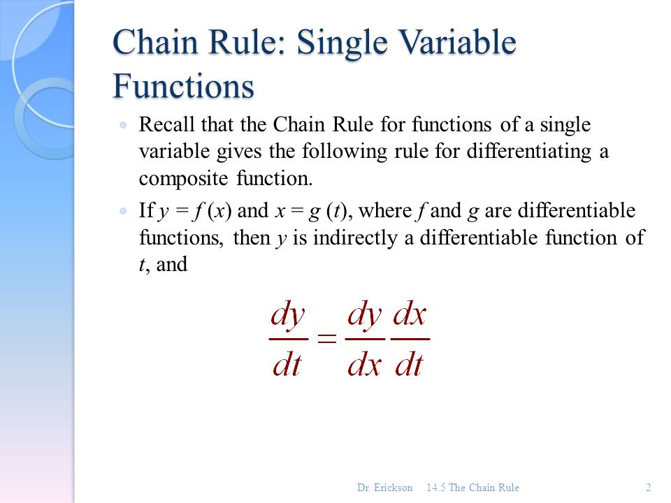 Definition of chain rule best chain 2018 for Rule of three meaning