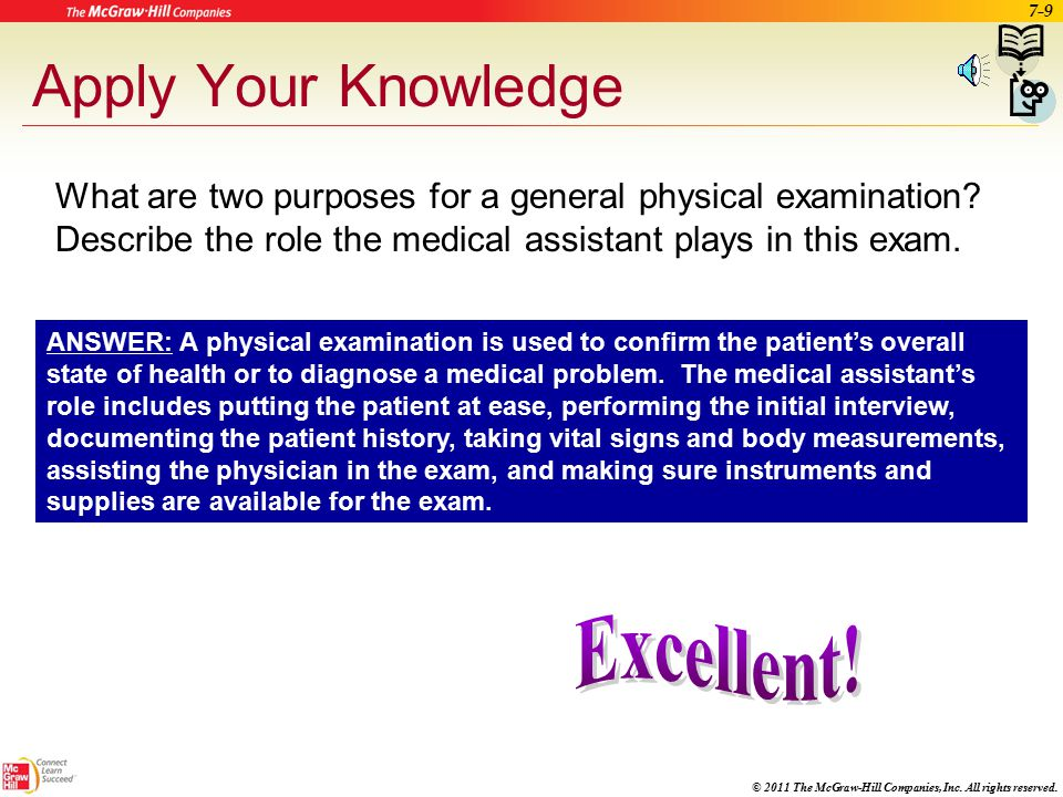 Assisting with a General Physical Examination - ppt video online ...