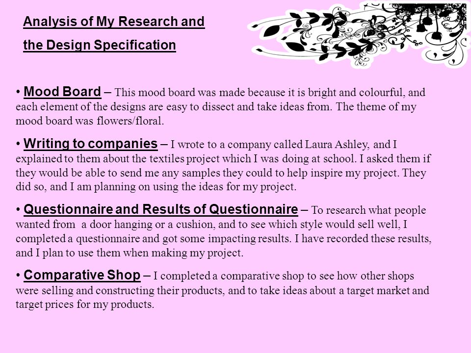 BBC - GCSE Bitesize: Analysing products