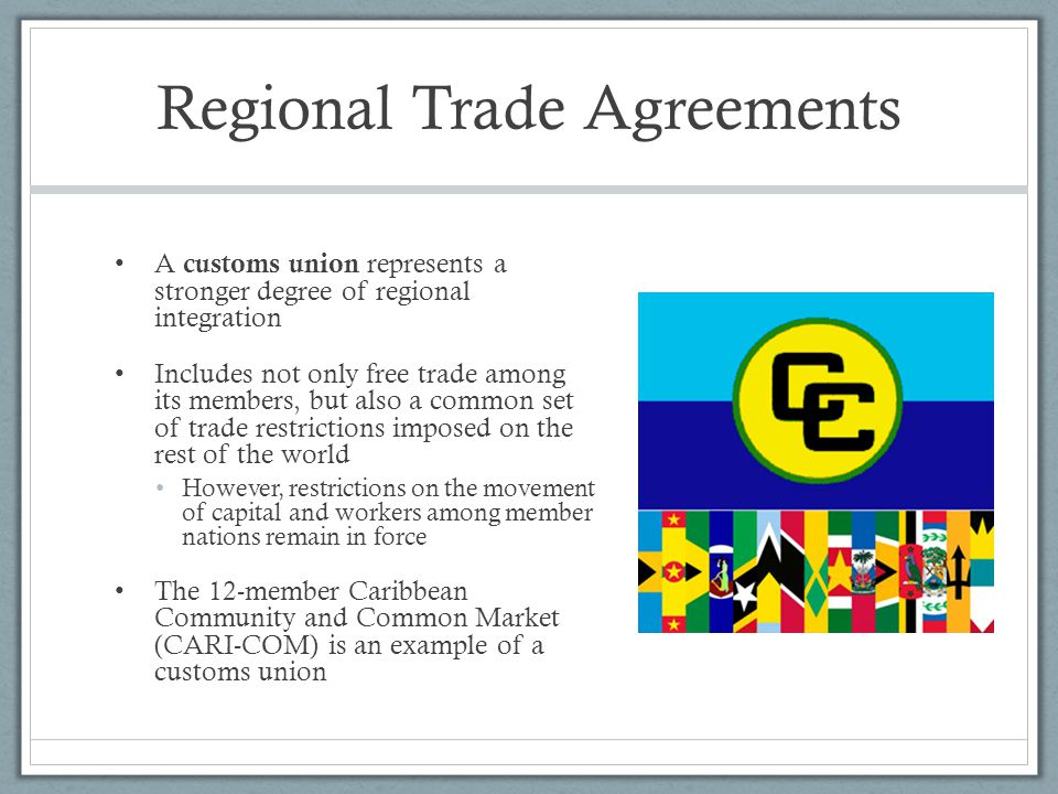 regional trade agreements Regional trade agreements a second-best choice india's new trade deal is a good example of why bilateral trade deals are less useful than multilateral ones.