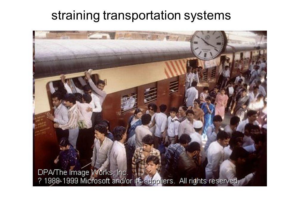 straining transportation systems