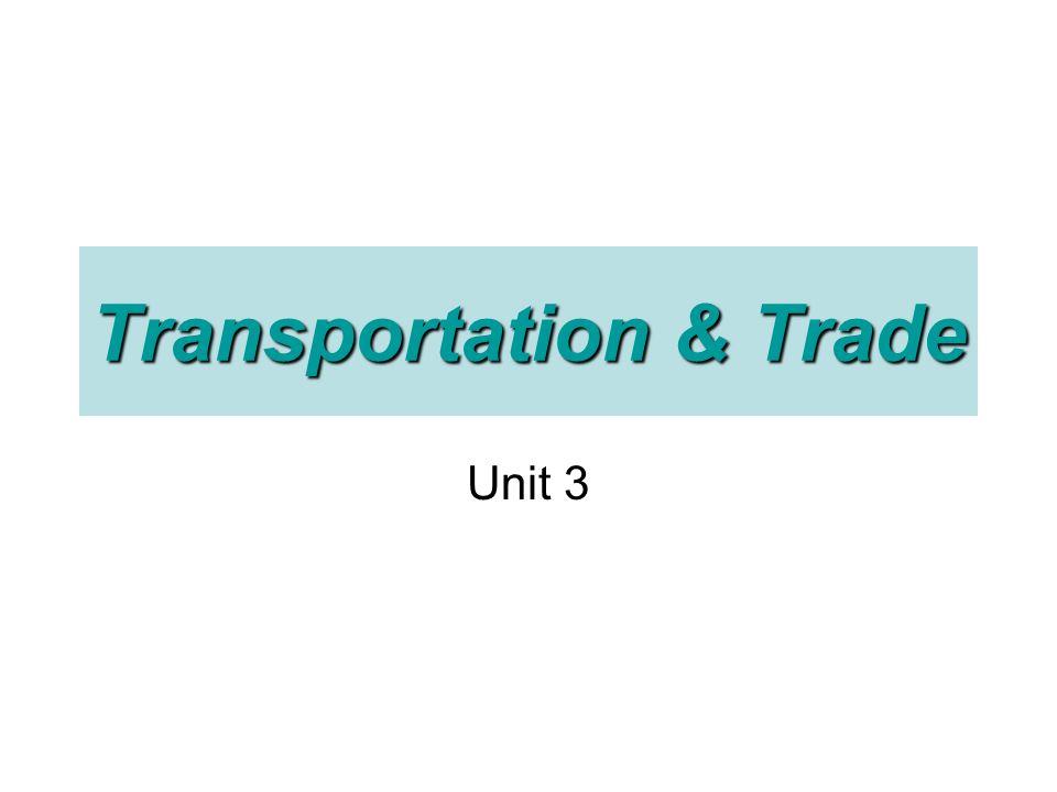 Transportation & Trade