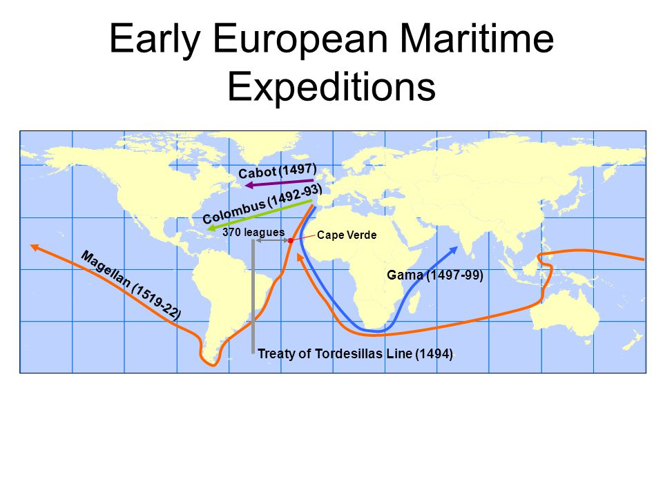 Early European Maritime Expeditions