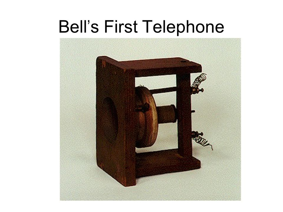 Bell's First Telephone