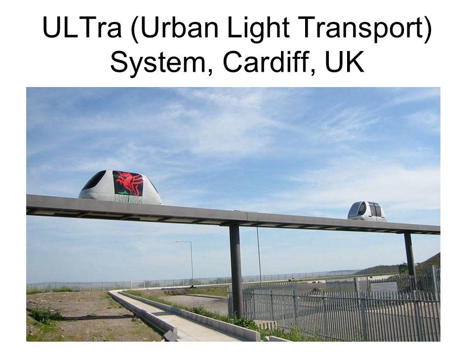ULTra (Urban Light Transport) System, Cardiff, UK