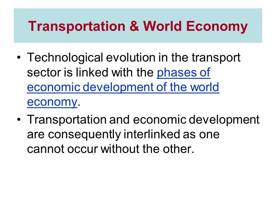 Transportation & World Economy