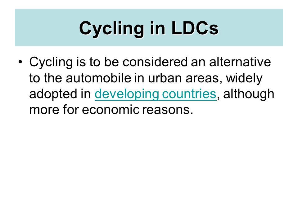 Cycling in LDCs