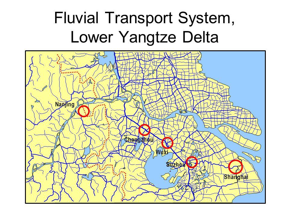 Fluvial Transport System, Lower Yangtze Delta