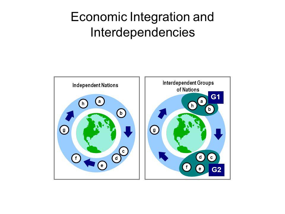 Economic Integration and Interdependencies