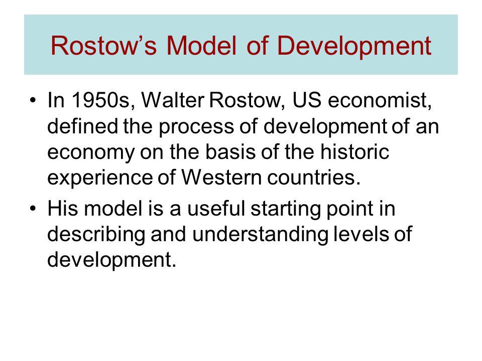 Rostow's Model of Development