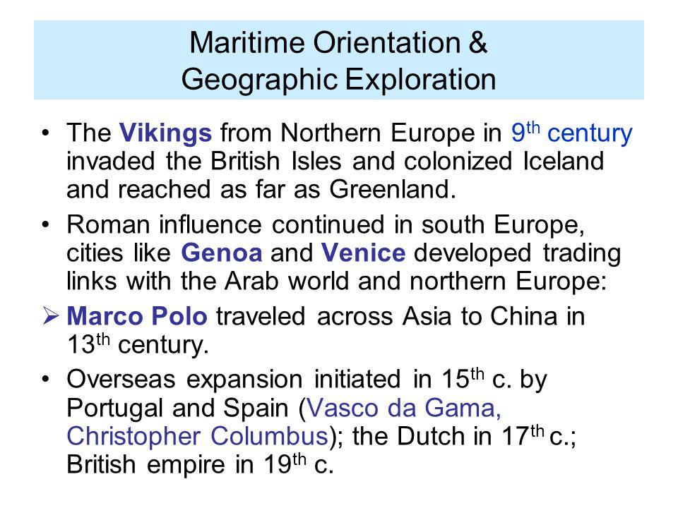 Maritime Orientation & Geographic Exploration