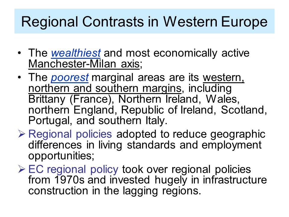 Regional Contrasts in Western Europe