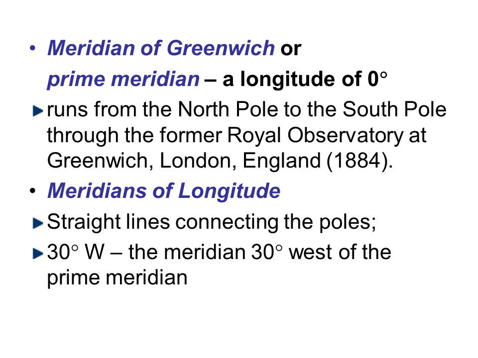 Meridian of Greenwich or