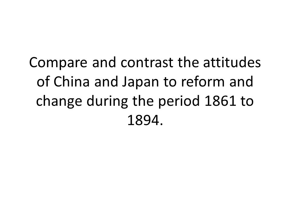 compare contrast of china and Are you stuck choosing an idea for your next school or college paper discover what you need in the list of 100 inspiring compare and contrast essay topics.