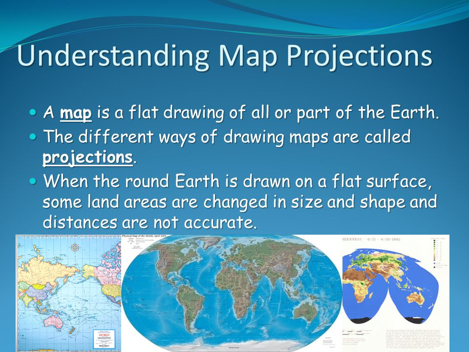 Unit 1 map and globe skills ppt download understanding map projections gumiabroncs Images