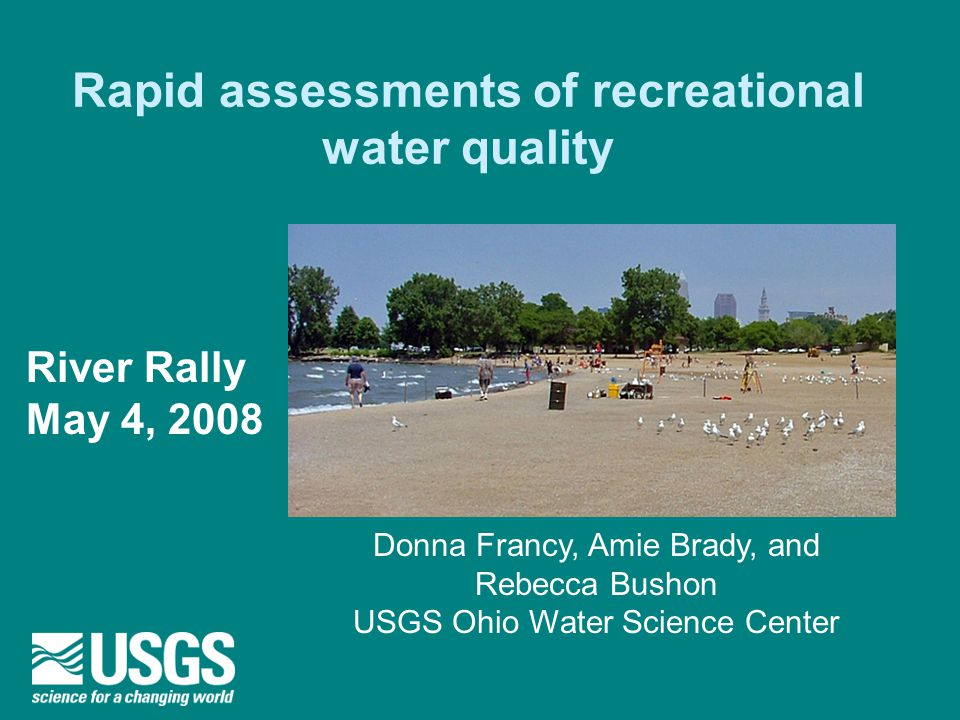 Rapid Assessment Of Drinking Water Quality