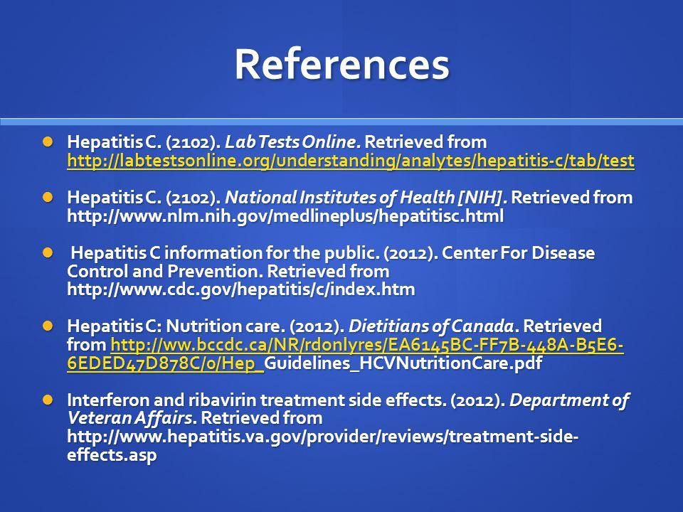Write my hepatitis c review article