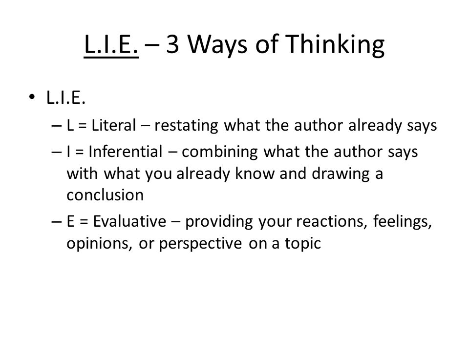 ways of thinking essay The best decision for you will be to order a paper like this essay on critical thinking on our website and get a huge discount for your next one.