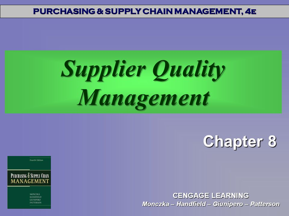 Supplier Quality Management - ppt download